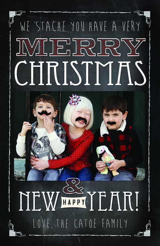 We 'stache you have a very Merry Christmas
