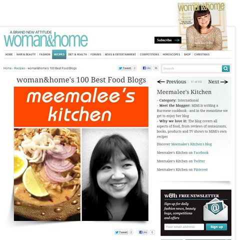 Meemalee's Kitchen - Woman & Home's 100 Best Food Blogs - Woman And Home
