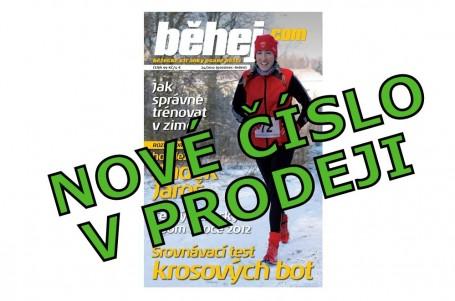 Listopadové Běhej.com přináší test krosových bot a tipy na zimní trénink