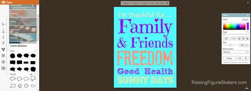 Matching Text Color in PicMonkey