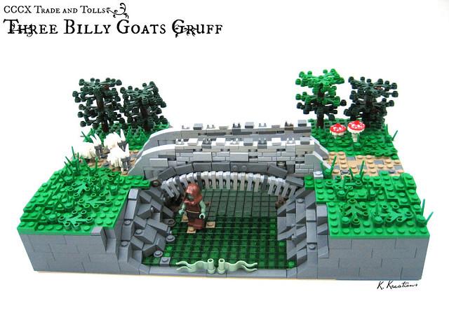 (CCCX) Three Billy Goats Gruff
