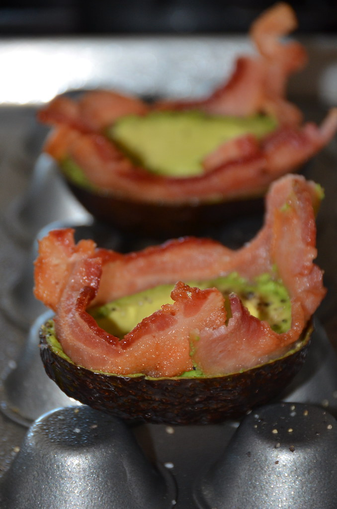 Bacon Egg Avocado Cups