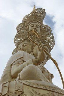 Golden Buddha on Emei Shan Summit