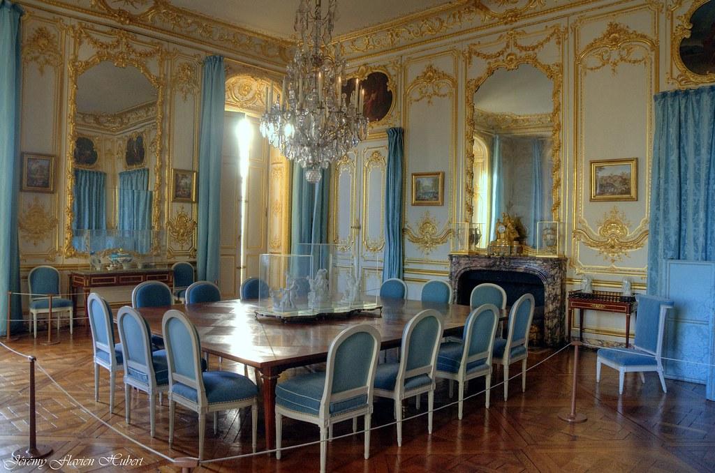 Château De Versailles Appartements Privés Salle à Manger Flickr