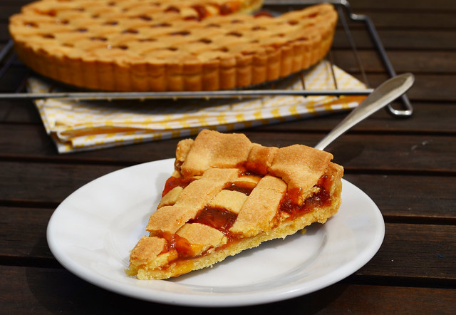 Slice of Crostata
