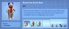 Snowy the Snow Bear