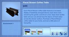Placid Stream Coffee Table