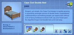 Cape Cod Double Bed