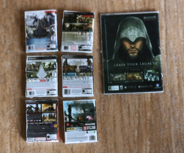 1/12th scale PS3 games and magazine