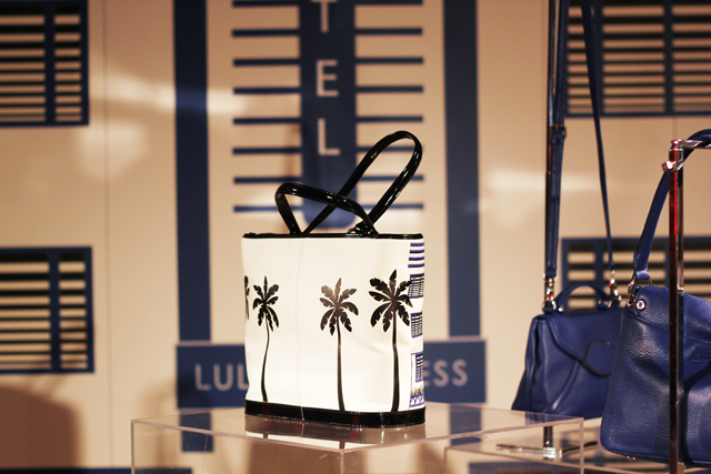 Lulu Guinness SS13 Palm Tree bag