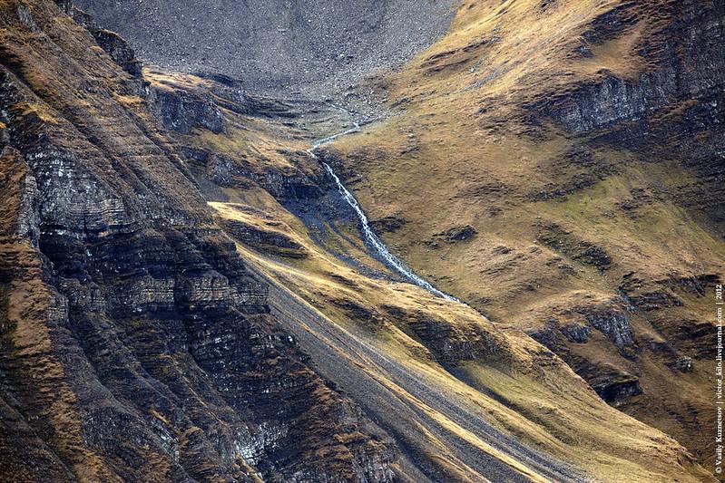 Stream at Bernese Alps