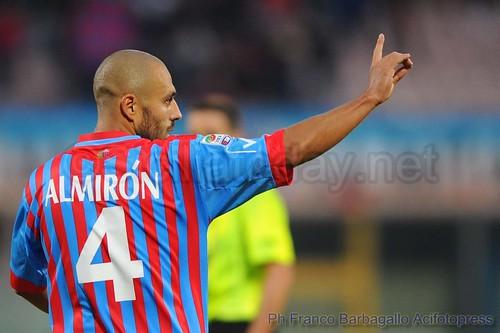 Calcio, Catania: Almiron in progresso$