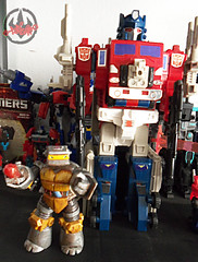 Nickelodeon  TEENAGE MUTANT NINJA TURTLES :: METALHEAD  xxiii / ..1989 Powermaster Optimus Prime (( 2012 ))