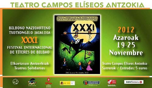 FESTIVAL TITERES BILBAO 2012 by LaVisitaComunicacion