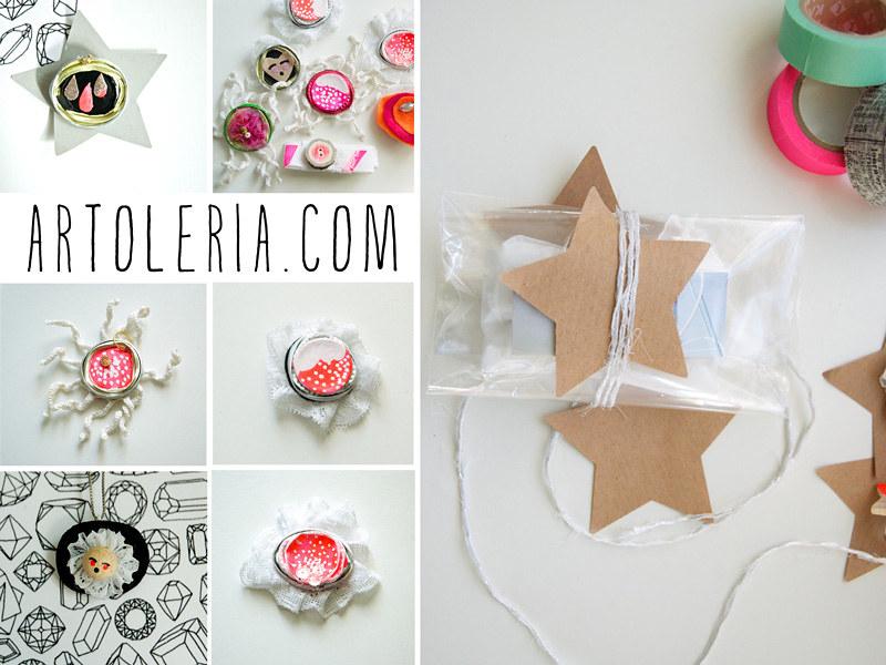 packaging natalizio e piccoli gioielli