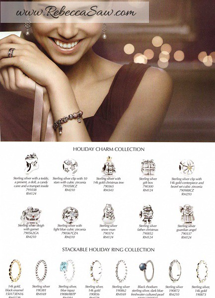 Pandora S Christmas Collection Tea Party Rebeccasaw Com