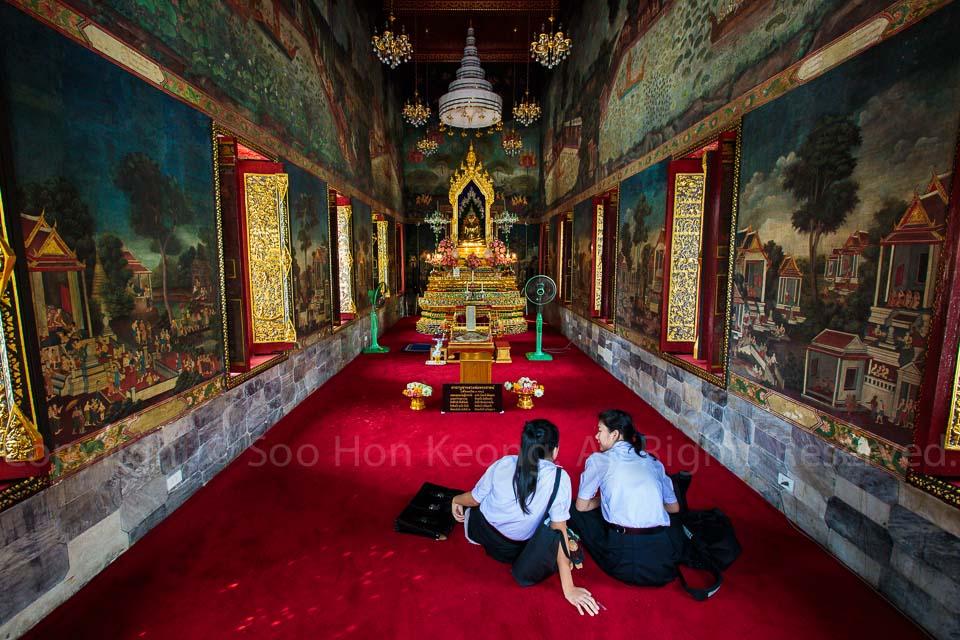 Wat Pathumwanaram @ Bangkok, Thailand