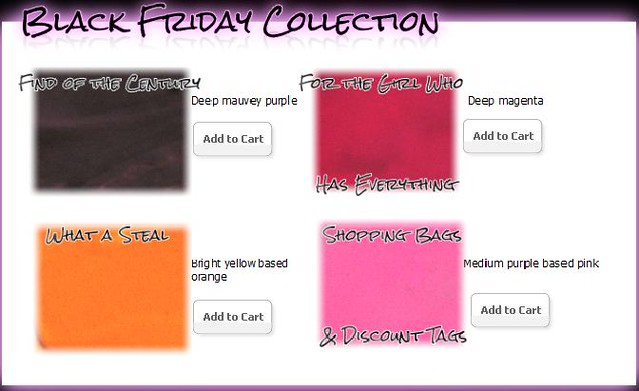 Venomous Cosmetics Black Friday Collection Lip Poisons