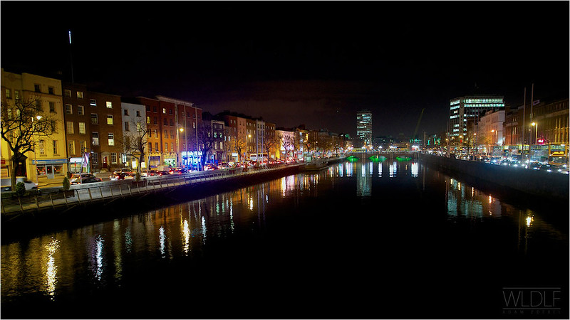 Dublin - river view