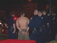 Arrested