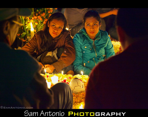 Day of the Dead in Xoxocotlan Cemetery, Oaxaca, Mexico 2012 by Sam Antonio Photography