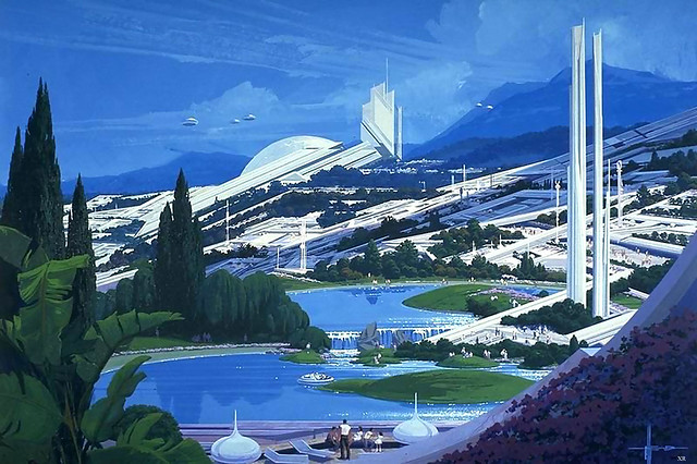 ... future city - Syd Mead