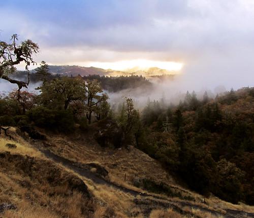 california mountains nature clouds sunrise landscape