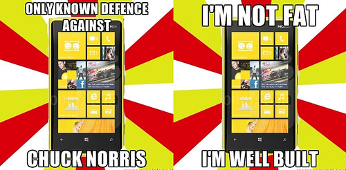 Nokia Lumia 920: falls to the floor breaks the floor