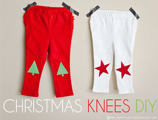 Christmas Knees DIY