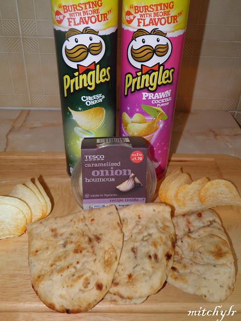 Chips, Dip & Flatbread