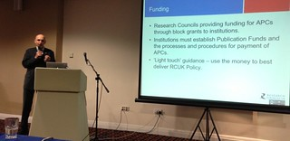 Mark Thorley at RLUK Conference