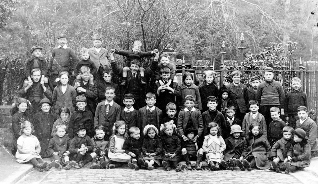 Stockbridge Colony children c1908