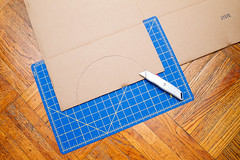 Cutting out circle