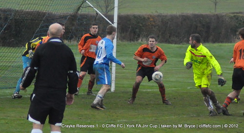 Cliffe FC 0 - 1 Crayke Res (York FA Cup) 24Nov12