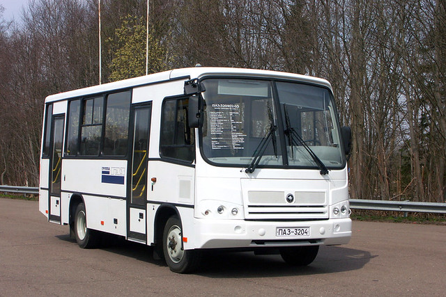 ПАЗ-3204 для доставки сотрудников Нотиса