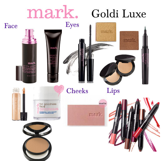 Livingaftermidnite: mark. Makeup Monday: Goldi Luxe