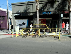 Long Beach Bike Parking
