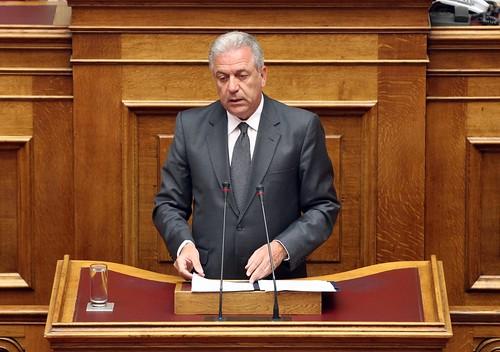 Απάντηση ΥΠΕΞ Δ. Αβραμόπουλου σε επίκαιρη ερώτηση βουλευτή του ΠΑΣΟΚ Α. Λοβέρδου