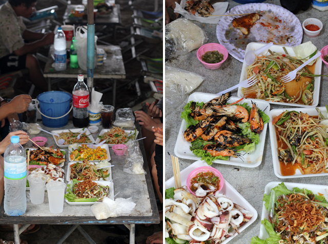 Epic Feasting at Bang Saen Beach