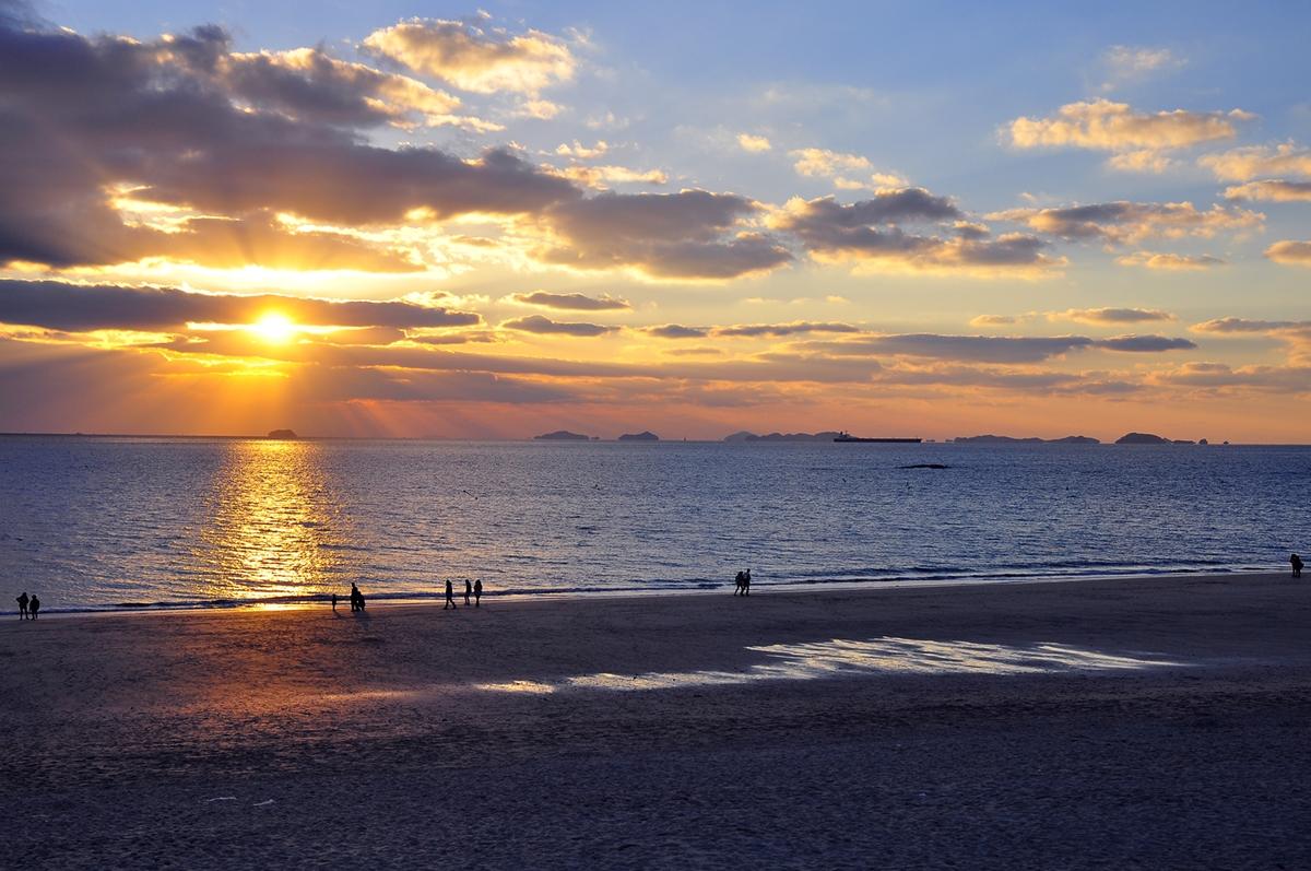 Daecheon Beach, Korea...November 2012