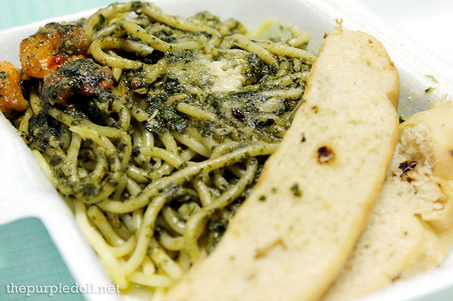 Creamy Pesto Malunggay with Shrimps P115