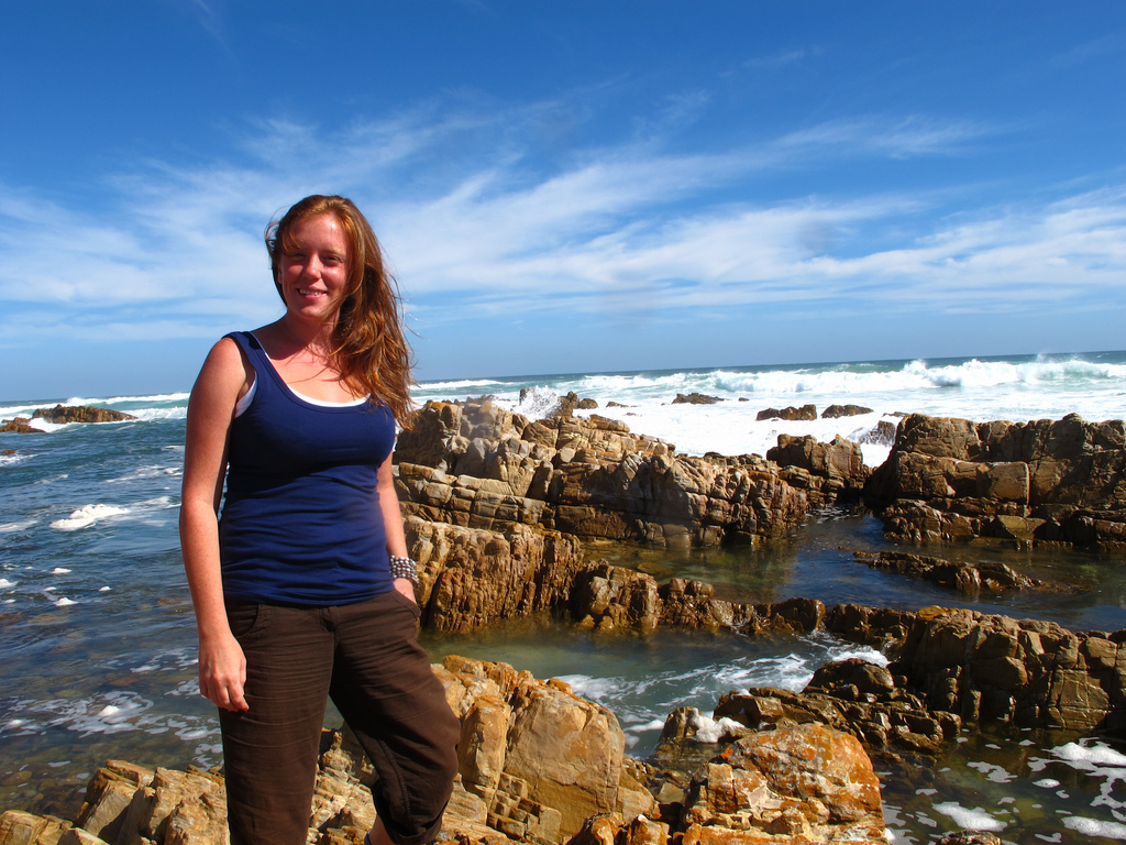 At Buffles Bay, on the southern coast of South Africa, near the end of my 2009/10 sabbatical
