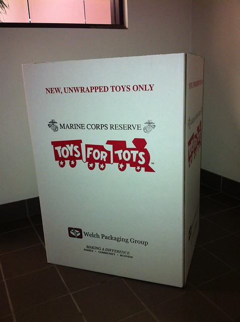 Toys For Tots Box : Toys for tots drop off box flickr photo sharing