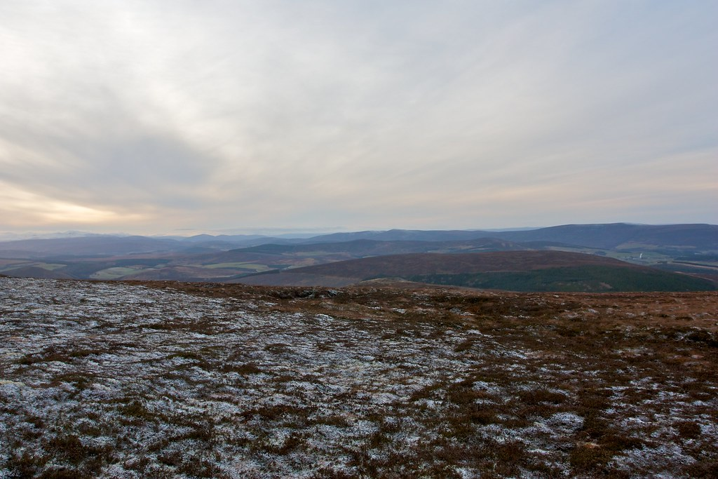 West from Carn an t-Suidhe