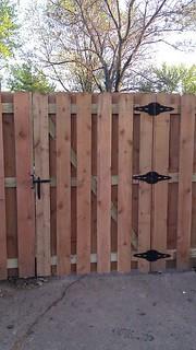 Shadowbox Cedar Gate