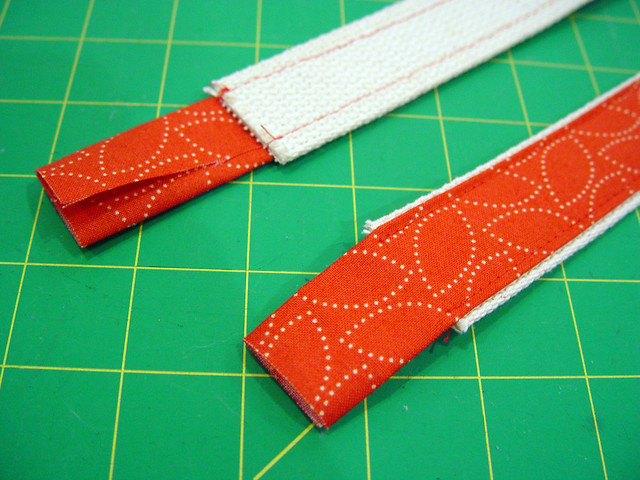 making the straps, 1