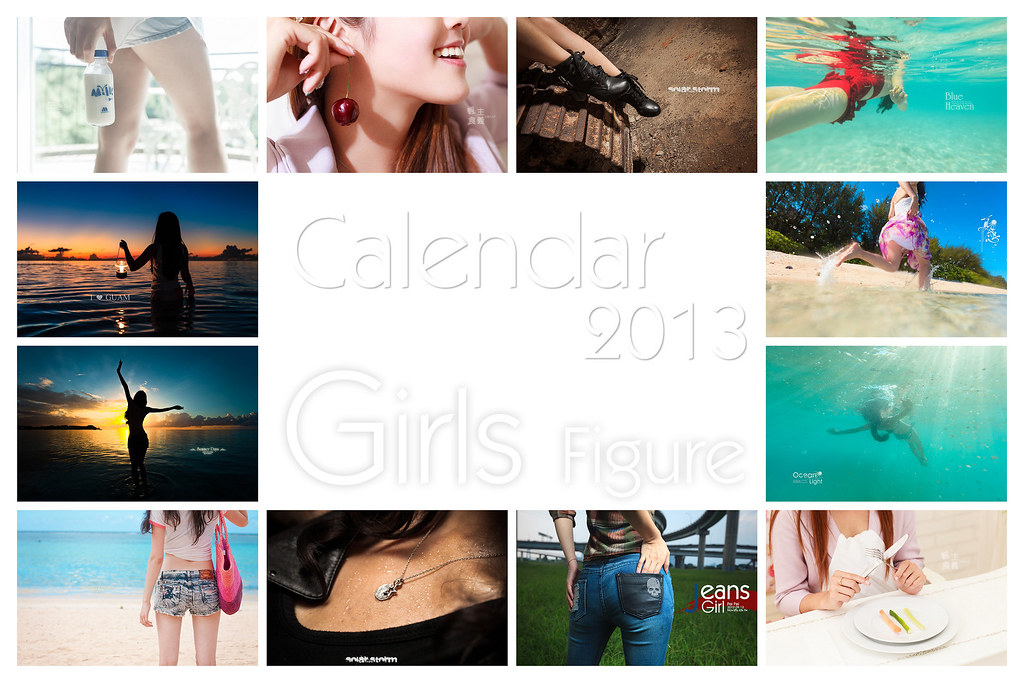[Calendar 2013]Girls Figure