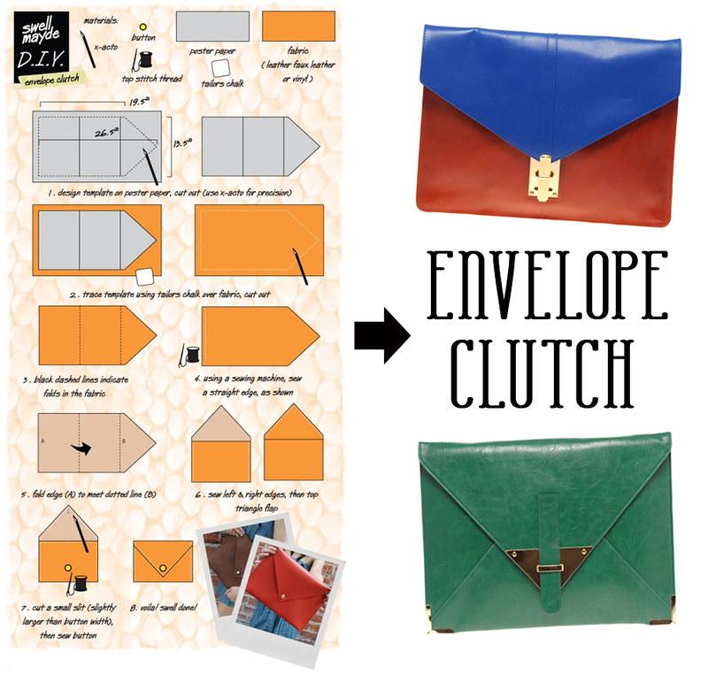 DIY / Envelope Clutch | ILVANAAD