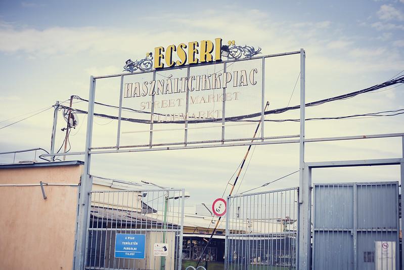 ecseri flea market, budapest