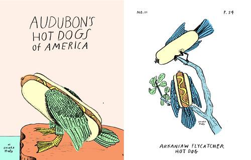 AUDUBON'S HOTDOGS by Ohara.Hale